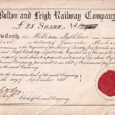 Manuscritos antiguos: DOCUMENTO HISTÓRICO DEL 15 DE SEPTIEMBRE DE 1832. Lote 225559310