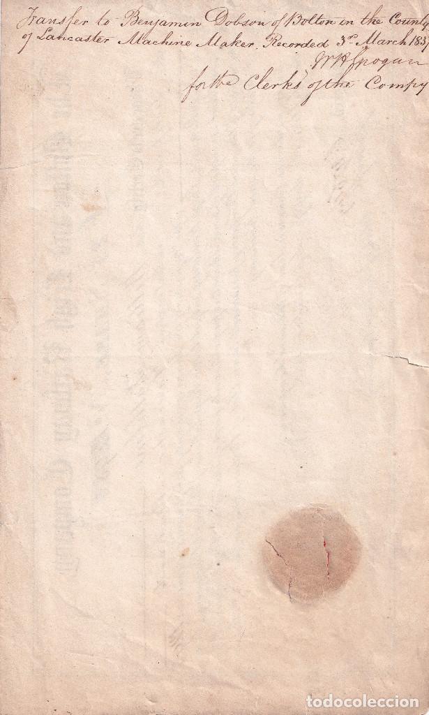 Manuscritos antiguos: Documento histórico del 15 de septiembre de 1832 - Foto 2 - 225559310