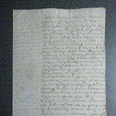 Manuscritos antiguos: CONCESIÓN INQUISICIÓN TÍTULO CABALLERO (JUAN GARCÍA) REY CARLOS I FIRMADO BURGOS AÑO 1527. Lote 225623040