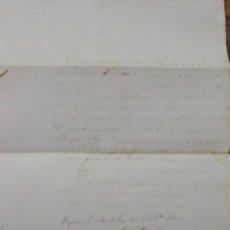 Manuscritos antiguos: CERVIÀ. LLEIDA. LÉRIDA. DOCUMENTO. PAGARÉ. MATEU RUBIO. JOSÉ MARTÍ. SANTA COLOMA. 1864.. Lote 228243015