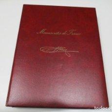 Manuscritos antiguos: MANUSCRITOS DE FRANCO Q4396T. Lote 229514520