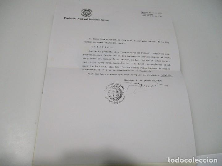 Manuscritos antiguos: Manuscritos de Franco Q4396T - Foto 4 - 229514520