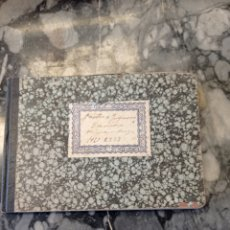 Manuscritos antiguos: ANTIGUO LIBRO DE CUENTAS MANUSCRITO DE UN TRANSPORTISTA DE SU CAMIÓN HISPANO SUIZA. 1949 A 1951. Lote 229688335