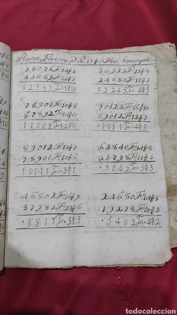 Manuscritos antiguos: MARQUESADO DE FOIX. LIBRETAS DE CUENTAS DE JOSEPH FARRRER DE LAS TORRAS (1766) - Foto 8 - 230411495