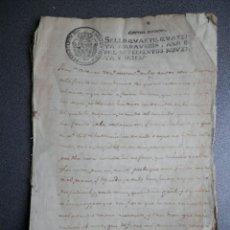Manuscritos antiguos: 8 MANUSCRITOS AÑOS 1798-1801 FUENTECEN BURGOS CON 11 FISCALES PLEITO Y ACTUACIONES JUDICIALES. Lote 230454820