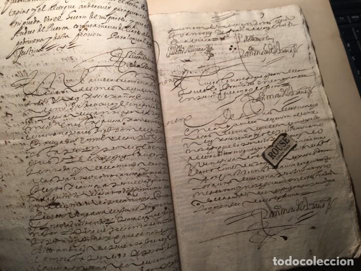Manuscritos antiguos: CARRION DE LOS CONDES ( PALENCIA) - antiguo documento manuscrito 1617 - 106 PAG. 30X21 CM. - Foto 7 - 231218280