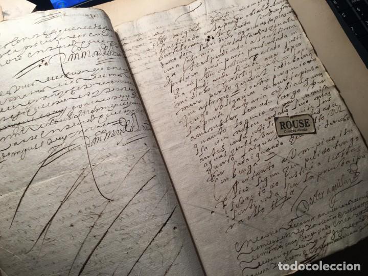 Manuscritos antiguos: CARRION DE LOS CONDES ( PALENCIA) - antiguo documento manuscrito 1617 - 106 PAG. 30X21 CM. - Foto 10 - 231218280