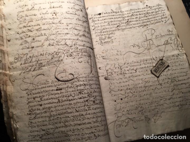 Manuscritos antiguos: CARRION DE LOS CONDES ( PALENCIA) - antiguo documento manuscrito 1617 - 106 PAG. 30X21 CM. - Foto 14 - 231218280