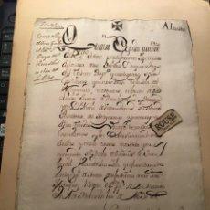 Manuscritos antiguos: ISLA DE LEON - ALCUDIA - DUQUES DE ARCOS - ANTIGUO DOCUMENTO MANUSCRITO 1630 - 1 HOJA. Lote 231509765