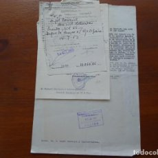 Manuscritos antiguos: SUCESIÓN EN LOS TÍTULOS DE DUQUE DE AVEYRO Y MARQUÉS DE PUERTO SEGURO, 1952. Lote 99367571