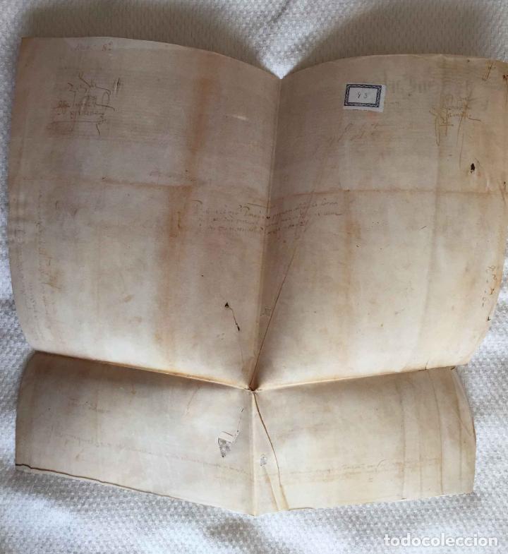 Manuscritos antiguos: Facsímil PUERTO de LA CORUÑA (Carlos V, 1520) GALICIA. Coleccionista - Foto 2 - 233430525