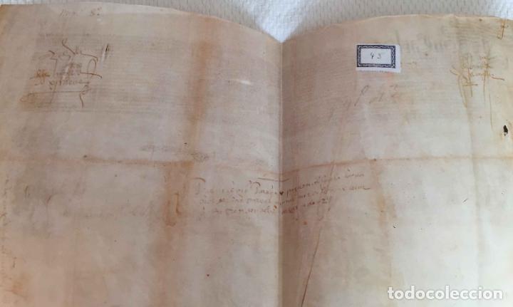 Manuscritos antiguos: Facsímil PUERTO de LA CORUÑA (Carlos V, 1520) GALICIA. Coleccionista - Foto 5 - 233430525
