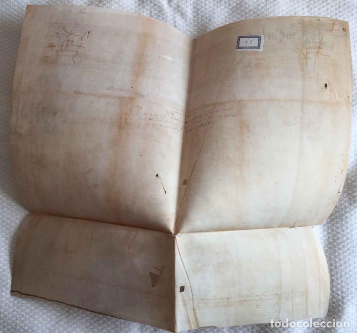 Manuscritos antiguos: Facsímil PUERTO de LA CORUÑA (Carlos V, 1520) GALICIA. Coleccionista - Foto 6 - 233430525