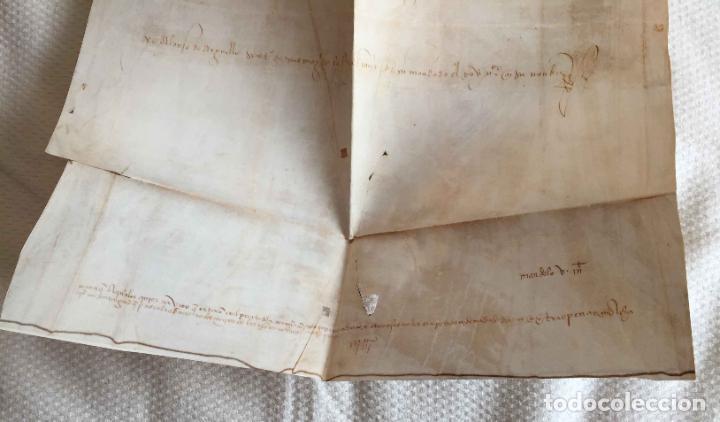 Manuscritos antiguos: Facsímil PUERTO de LA CORUÑA (Carlos V, 1520) GALICIA. Coleccionista - Foto 8 - 233430525