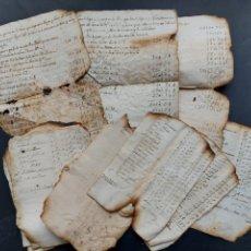 Manuscritos antiguos: NOTAS MANUSCRITAS VENTA O CUENTAS MINA FOGUET A INVESTIGAR 1807 S. XIX. Lote 233640585