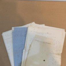 Manuscritos antiguos: CORRESPONDENCIA ENRIQUE O'NEALE RIVERO / MARTINEZ DEL CAMPO / SOCIEDAD ECONOMICA DE JEREZ FRONTERA. Lote 233690020