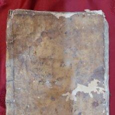 Manuscritos antiguos: CUADERNO MANUSCRITO S.XVII. MARQUESADO TORRELLES DE FOIX. FIRMADO POR DON GUERAU DE PAGUERA. Lote 233904770