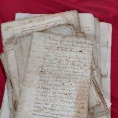 Manuscritos antiguos: GRAN LOTE MANUSCRITOS S.XVII. MARQUESADO DE FOIX. FAMILIA FARRER/FERRER.. Lote 234007670