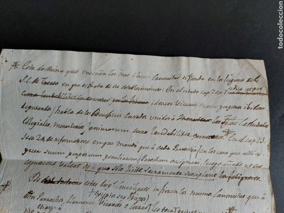 Manuscritos antiguos: Carta Manuscrita Tarragona Marical Campo Gaspar Bracho Bustamante Gobernador Militar Político XVIII - Foto 4 - 234472715