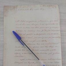 Manuscritos antiguos: GUERRA DE LA INDEPENDENCIA - VALLADOLID 1809. Lote 235279800