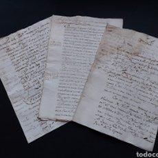 Manuscritos antiguos: XVIII IMPRESIÓN LIBRO REZO DIVINO SACROS PLANTINO AMBERES BENITO MONFORT IMPRESORES LIBREROS REINO. Lote 235731385