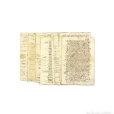 Manuscritos antiguos: TESTIMONIO Y RELACIÓN DEL VALOR DE LA ENCOMIENDA DE LOPERA (JAÉN) 1626 A 1632 Y 1635. Lote 192864158