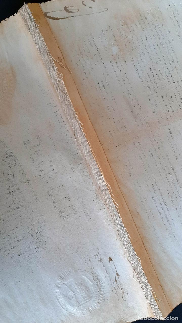 Manuscritos antiguos: DOCUMENTO ESCLAVOS DECRETO ABOLICION ESCLAVITUD 189 CUBA 1868 FIRMA CARLOS MANUEL CESPEDES ORIGINAL - Foto 7 - 236084855