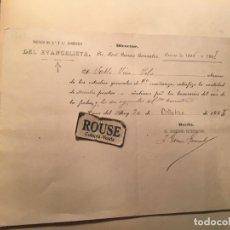 Manuscritos antiguos: NAVA DEL REY 1886- COLEGIO DE 1ªY2ª ENSEÑANZA DEL EVANGELISTA LIC. JOSÉ GOMEZ GONZALEZ CURSO 1886-18. Lote 236219570