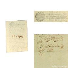 Manuscritos antiguos: TRASLADO DEL TÍTULO DE SARGENTO MAYOR DE LAS MILICIAS DE UTRERA (SEVILLA) 1681. Lote 193670150