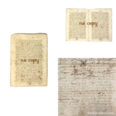 Manuscritos antiguos: CARTA DE PODER OTORGADA POR UN BOTICARIO DE PLASENCIA (CÁCERES) 1568. Lote 208423490