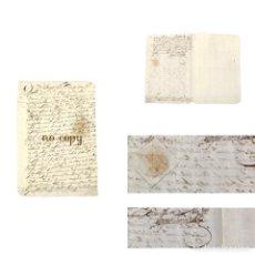 Manuscritos antiguos: CERTIFICADO DE OFICIAL DEL EJÉRCITO DE NÁPOLES SOBRE LOS SERVICIOS DE UN SOLDADO. 1687. Lote 191884837