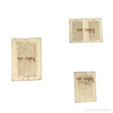 Manuscritos antiguos: CARTA DE VENTA DE UNA CASA EN PLASENCIA (CÁCERES) POR UN REGIDOR A UN ESCRIBANO DE LA CIUDAD 1583. Lote 193713427