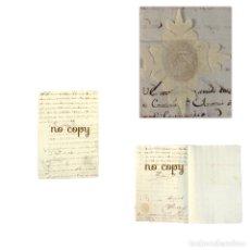 Manuscritos antiguos: CERTIFICADO DEL MARQUÉS DE NAVAMORCUENDE, TENIENTE GENERAL DE LOS REALES EJÉRCITOS 1720. Lote 191885195