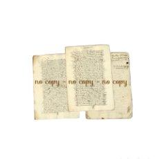Manuscritos antiguos: SECRETARIO DEL REY MAYORDOMO CONDE DE PUÑONROSTRO TORREJÓN DE VELASCO 1633-1635. Lote 191297381