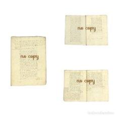 Manuscritos antiguos: CUENTAS DE LAS RENTAS DE LA MARQUESA DE SAN DAMIÁN EN EL BARQUILLO (MADRID) 1683. Lote 193429256