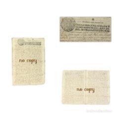 Manuscritos antiguos: TESTAMENTO DE UN SARGENTO VECINO DE MADRID Y NATURAL DE NAVIA (OVIEDO) 1702 JOYA REY. Lote 192417581