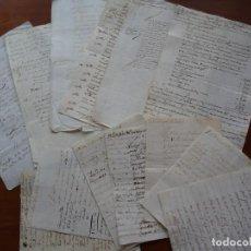 Manuscritos antiguos: CÁDIZ, PRESBÍTERO CATEDRAL JOSEP FELIPE VIDAL CHAVES, PAPELES SUELTOS, SALINAS, MOLINO, TAHONA, ETC. Lote 238287390