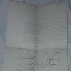 Manuscritos antiguos: ANTIGUO CERTIFICADO DE VECINOS MANUSCRITO DE BUENA CONDUCTA AÑO 1939. Lote 239697705