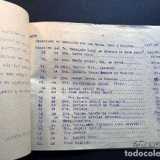 Manuscritos antiguos: RIBARROJA DE EBRO ( TARRAGONA ) AÑO 1953 / COLECTA PARA LA CONSTRUCCIÓN ALTAR DE LAS ÁNIMAS. Lote 239949050