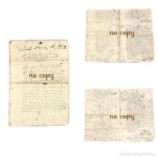 Manuscritos antiguos: FRANCISCO BENITO COLODRO CANÓNIGO MAGISTRAL DE CUENCA CONTRA VECINOS DE SAN CLEMENTE CARMELITAS 1692. Lote 193678732