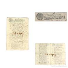 Manuscritos antiguos: BIENES DE UN VECINO DE MADRID - 1699 CUADROS JOYAS VÍBORA ENCOMIENDA SAN JUAN. Lote 192532673