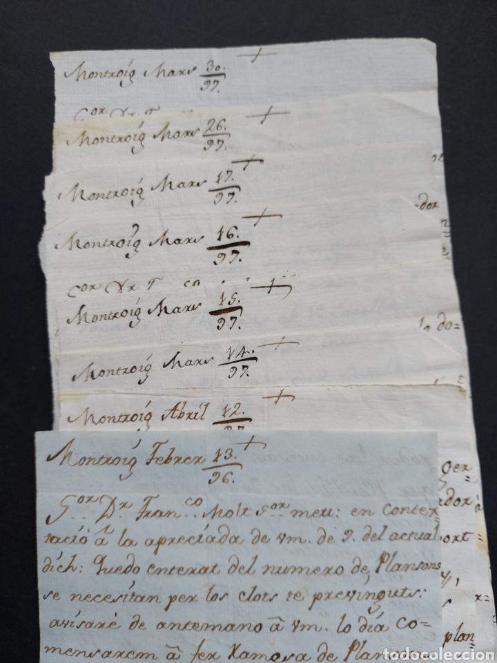 Manuscritos antiguos: Gastos de Fortificación Casa la Torreforta y sus terrenos adjuntos Tarragona Siglo XVIII Siglo XIX - Foto 3 - 240464255