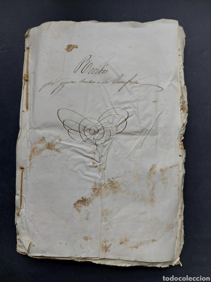 Manuscritos antiguos: Gastos de Fortificación Casa la Torreforta y sus terrenos adjuntos Tarragona Siglo XVIII Siglo XIX - Foto 7 - 240464255