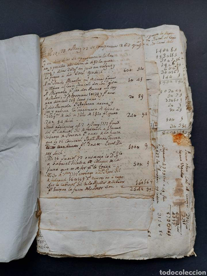 Manuscritos antiguos: Gastos de Fortificación Casa la Torreforta y sus terrenos adjuntos Tarragona Siglo XVIII Siglo XIX - Foto 8 - 240464255