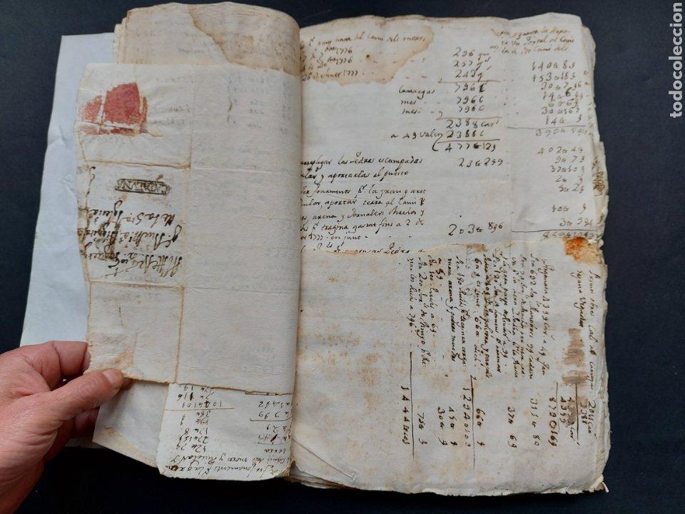 Manuscritos antiguos: Gastos de Fortificación Casa la Torreforta y sus terrenos adjuntos Tarragona Siglo XVIII Siglo XIX - Foto 10 - 240464255