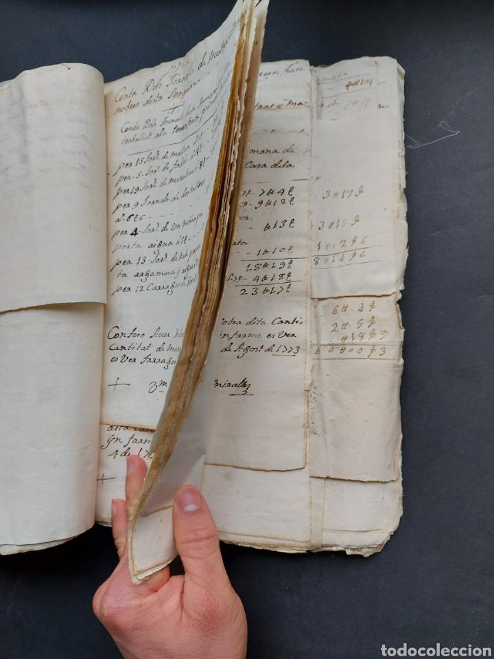 Manuscritos antiguos: Gastos de Fortificación Casa la Torreforta y sus terrenos adjuntos Tarragona Siglo XVIII Siglo XIX - Foto 13 - 240464255