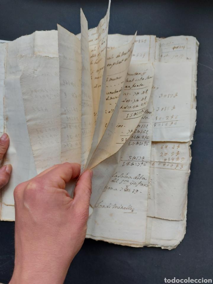 Manuscritos antiguos: Gastos de Fortificación Casa la Torreforta y sus terrenos adjuntos Tarragona Siglo XVIII Siglo XIX - Foto 19 - 240464255