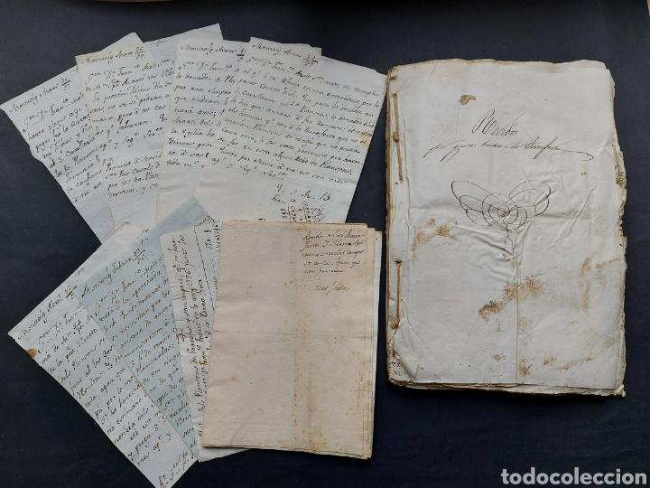 GASTOS DE FORTIFICACIÓN CASA LA TORREFORTA Y SUS TERRENOS ADJUNTOS TARRAGONA SIGLO XVIII SIGLO XIX (Coleccionismo - Documentos - Manuscritos)