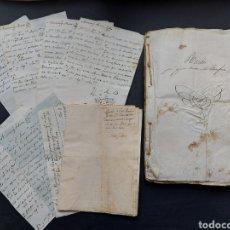 Manuscritos antiguos: GASTOS DE FORTIFICACIÓN CASA LA TORREFORTA Y SUS TERRENOS ADJUNTOS TARRAGONA SIGLO XVIII SIGLO XIX. Lote 240464255