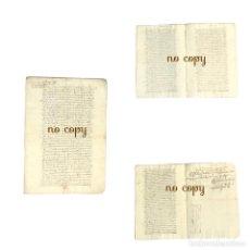 Manuscritos antiguos: VENTA DE OFICIOS DE PROCURADOR GENERAL Y ESCRIBANO DEL CABILDO DE BADAJOZ 1632. Lote 240656450